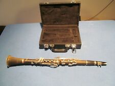 De Rosa Clarinet Five Piece Wood Wind No Scuffs Or Damage With Mouth Piece