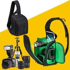 Sling DSLR SLR Camera Case Shoulder Bag for Nikon D5100 D3200 D3100 D3000 D3300