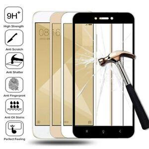 2PCS Xiaomi Redmi 4 4A 4X Full Cover Tempered Glass Film Cover Screen Protector