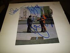 """PINK FLOYD SIGNED LP """"WISH YOU WERE HERE"""" ROGER WATERS+NICK MASON L@@K! PROOF!"""