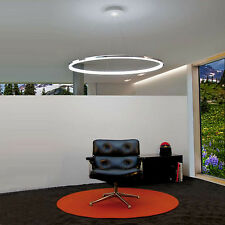 Modern Acrylic Design Living LED Ring Pendant Lamp Chandelier Ceiling Light Lamp