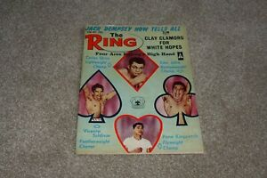 THE RING BOXING MAGAZINE APRIL - MAY 1965. MUHAMMAD ALI CASSIUS CLAY UK VERSION