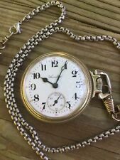 Hamilton 975 17 Jewel Side Winder Hunter Case Railroad Conductor pocket watch