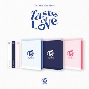 TWICE Taste of Love 10th Mini Album CD+Photobook+Photocard+Etc+Tracking Number