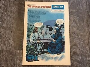 Sunday Pix By David C Cook June 16, 1963 The Judge's Problem Weekly