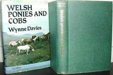 WELSH PONIES and COBS Wynne Davies MOUNTAIN PONY HORSES Horse HB DJ 1st Ed illus