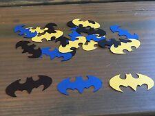 100 Batman Confetti Pieces, Superhero Party, Birthday Party, Baby Shower
