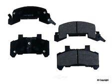 Disc Brake Pad Set fits 1980-1991 Pontiac Grand Am Sunbird Phoenix  WD EXPRESS