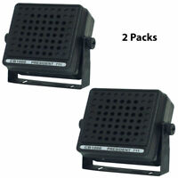 LOT OF (2) NEW PYRAMID CB1000 Communications Extension Speaker