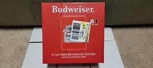 Budweiser Portable 6-can Mini Fridge, MIS135BUD, Red rare ps3 ps4 ps5 xbox 2021