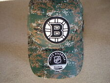 Boston Bruins Youth Camo Hat SZ 8-20 So Nice...