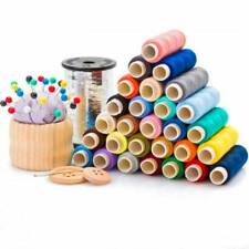 30 Colors Sewing Threads Polyester 250Yards Per Spools for Hand & Machine Sewing