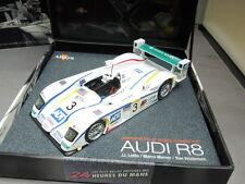 IXO AUDI R8 diecast model race car Kristensen Lehto Werner Le Mans 2005 1:43rd