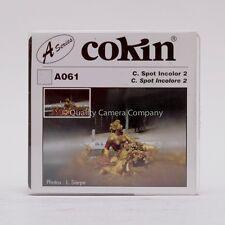"COKIN ""A"" SERIES A061 C SPOT INCOLOR 2 FILTER - SHARP CENTER DIFFUSE EDGES - NOS"