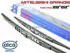 Mitsubishi GRANDIS 2004+ Alca windscreen WIPER BLADES 28''22''