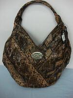 NWT Womens XOXO Breakaway Shoulder Bag Hobo Purse Handbag Exotic #4L