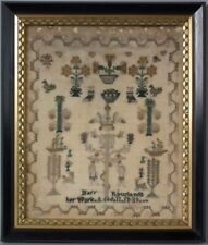 Antique Sampler, 1839, by Mary Rowlands