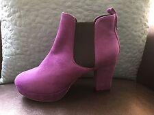 Zriey Women's Platform High Heel Casual chunky Heel Pumps Boot Shoes