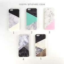 Mix Multi-color Marble Stone Granit Texture Case Cover For iPhone6 6Plus 6S Plus