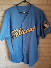 Rare Myrtle Beach Pelicans Size Medium Baseball Jersey Carolina League Minors