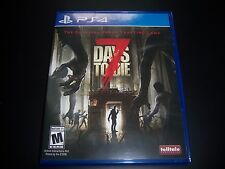 Replacement Case (NO GAME) 7 SEVEN DAYS TO DIE PlayStation 4 PS4 Original Box