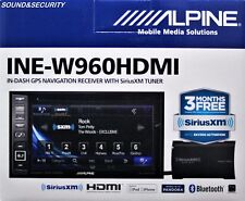 "ALPINE INE-W960HDMI 2-DIN 6.1""  DVD NAVIGATION & HDMI MULTIMEDIA RECEIVER NEW!"