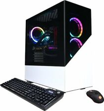 CyberPowerPC Gaming Desktop  AMD Ryzen 7 3700X, 16GB, 1TB SSD, Nvidea GT 730 GPU