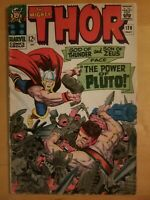 MIGHTY THOR #128 - 1966 Marvel Comics - Jack Kirby! Vince Colletta! Hercules!