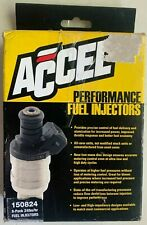 ACCEL 150824 Fuel Injectors, 24 lb/hr, High Impedance, 8 Pack