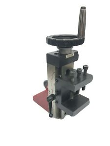 lathe vertical milling slide Sealey Brand