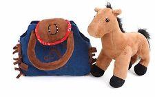"""""""OCCIDENTALI"""" Pony-in-a-Bag Borsa in Stile Western con Pony all'interno Carino Regalo Originale"""