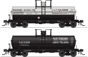 HO Scale Broadway Limited Imports 6000-Gallon Tank Car SACX 626
