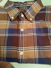 Cremieux Classic Men's LS Plaid Shirt NWT XL