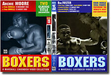 ARCHIE MOORE & BOB FOSTER w/ALI   Historic Boxing on DVD > NEW!