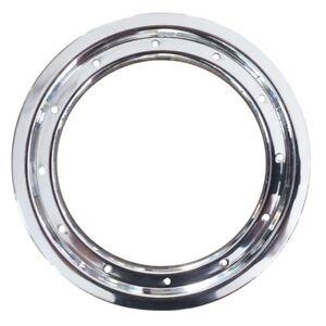 Aluminium Bead Lock Ring Farbe Silber für 10 Zoll Quad / ATV Felgen
