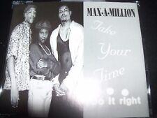 Max-A-Million / Maximillion Take Your Time (Do It Right) Remixes CD Single