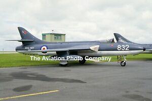 Royal Navy SAH Hawker Hunter GA.11 XE668 (1986) Photograph