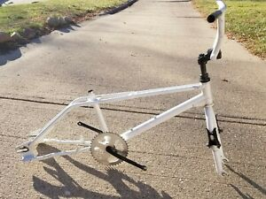 VINTAGE 1987? HARO MASTER BMX FREESTYLE FRAME FORK PEGS STANDERS OTHER PARTS