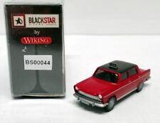"BLACKSTAR BS00044 - FIAT 1800 ""TAXI"" colore rosso - scala HO 1:87"