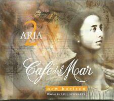 CAFE DEL MAR-ARIA 2 NEW HORIZON CD ALBUM 1999 SPAIN EXCELLENT CONDITION