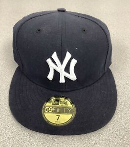 New York Yankees Baseball Hat New Era 59Fifty Fitted Cap 7 Unworn New With Tags