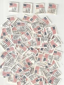 100 AMERICAN FLAG OVER CAPITOL BUILDING Used US 22c Stamps