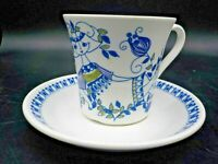 Vtg 60's Turi Design Lotte Norway Mid Century Tea Coffee Cup & Saucer