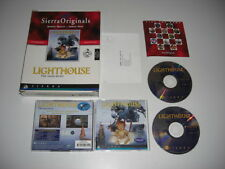 LIGHTHOUSE The Dark Being Pc Cd Rom Sierra Originals BIG BOX - Fast Secure Post