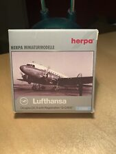 Herpa Wings 516716 Lufthansa Douglas DC3 1:500 Modell OVP D-CADE