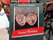 HALLMARK... NUTSHELL... WORKSHOP... ORNAMENT...