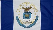 3 X 5 Flag Us Air Force Retired 3' X 5' Usaf 3' X 5' Dept Seal Still Serving