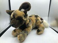 Another Korimco Friend African Wild Dog Plush Kids Soft Stuffed Toy Animal Doll