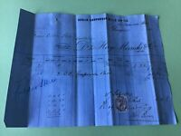 Roslin Gunpowder Mills 1894  Glasgow Gunpowder  merchants Receipt  Ref R32199