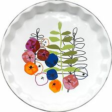 Oven Proof Floral Serving Dishes